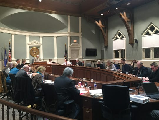 Tompkins County lawmakers approved a 1.01 percent tax