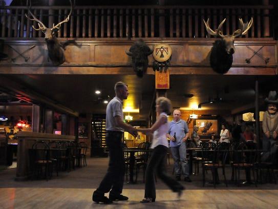 Couples glided across the dance floor on June 16, 2010,