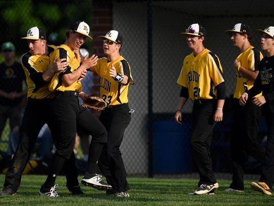 Red Lion celebrates after beating Dallastown 4-1 in