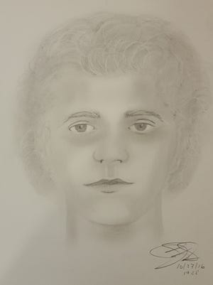 New Castle County police released a sketch of a person they said was involved in a Newark-area robbery earlier in the week.