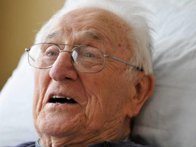 Ed Mierkowicz, 91, is the last surviving member of