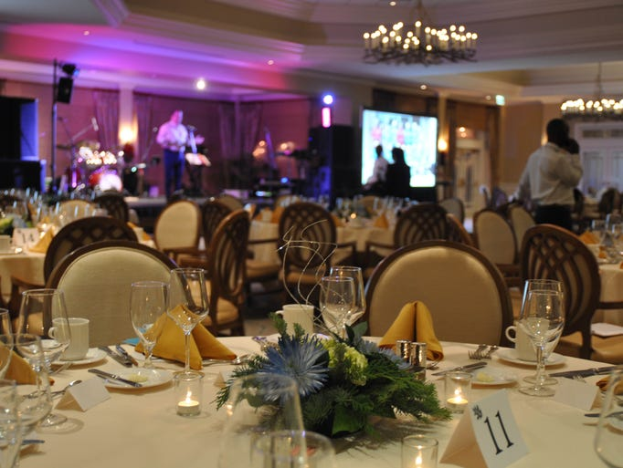 Guests enjoyed their time at the Diamond Ball on Thursday,