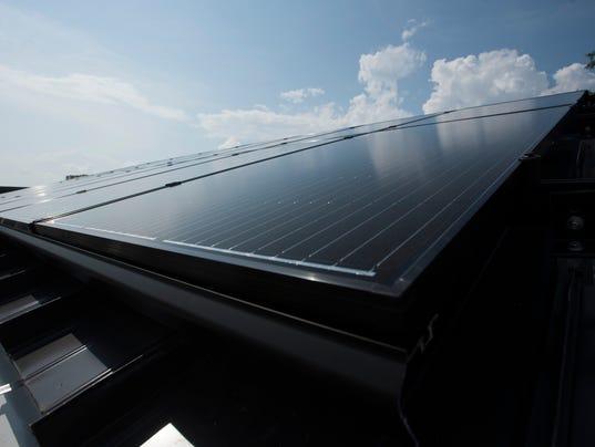 Gulf Breeze High-Solar Panels