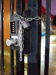 For about an hour Wednesday night, Cajun softball players were locked out of their locker room.