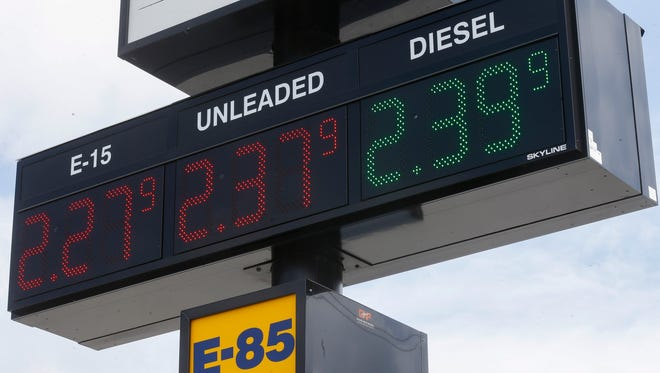 Gas prices in the Springfield are have spiked due to outages at Texas Gulf Coast refineries and disruptions to shipping corridors.