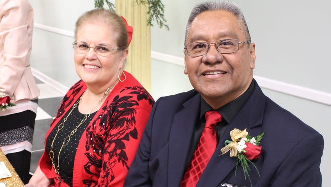 Pastor Steve Jaquez and his wife Cyndi