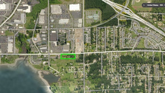 Proposed site for a restaurant and market complex on