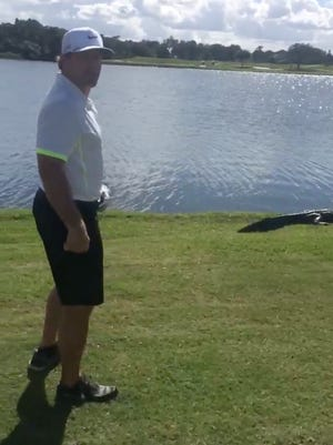 Jeremy Roenick tried to fight an alligator.