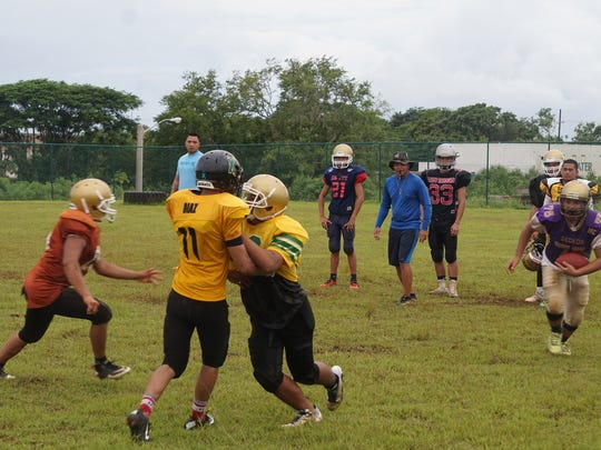 The Tiyan High Titans; with their new golden helmets; have begun practicing for their inaugural football season. The school will be the first to join the Interscholastic Football League since 2008.