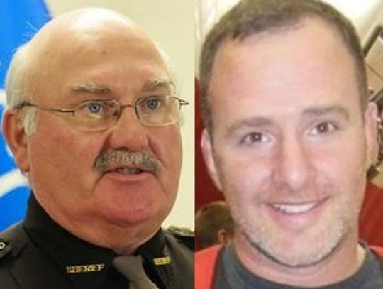 Randy Wright (left) and Adam Bieber are running for