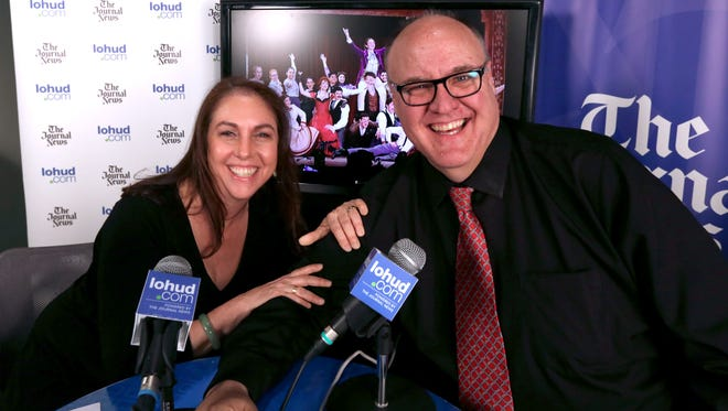 Producer Danielle Rudess and lohud's Peter D. Kramer announce the nominations for the 2017 Metro Awards during a live video show at The Journal News May 16, 2017.