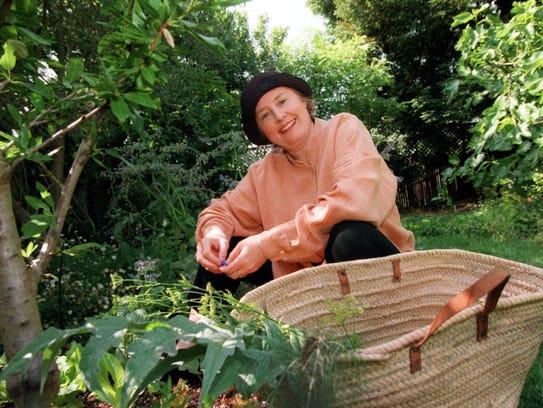 Chef Alice Waters of Chez Panisse in her Berkeley,