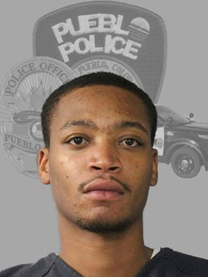This undated photo provided by the Pueblo Police Department shows Donthe Isiah Lucas. Southern Colorado authorities have arrested Lucas, Friday, Dec. 1, 2017 on suspicion of first-degree murder in the disappearance of a pregnant 21-year-old woman whose body hasn't been found. (Pueblo Police Department via AP)