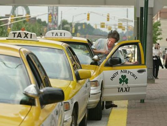 IndyStar stock airport stock travel stock taxi Airport Tax co.