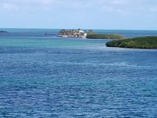 Beautiful Boca Chita Key in Biscayne National Park.