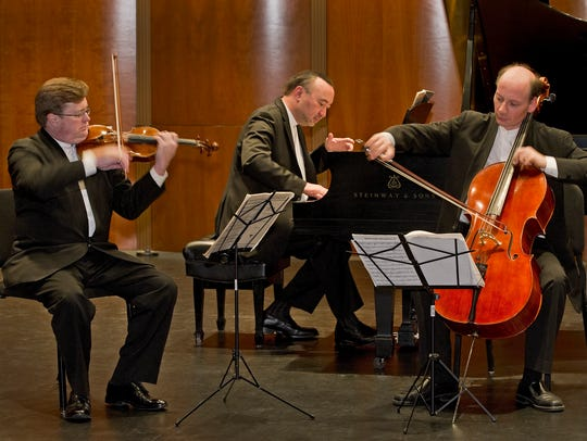The Montrose Trio (credit--see name on jpg) will perform at 7:30 p.m. Tuesday, Feb 6 at the Akin Auditorium at Midwestern State University.