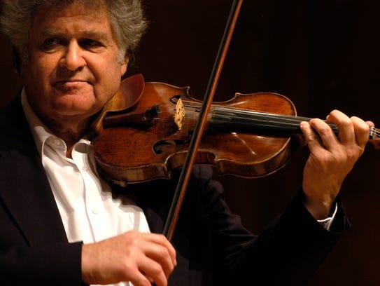 Violinist Shmuel Ashkenasi