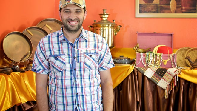 Ahmed Merie owns Old Nineveh Restaurant and Bakery in Palm Bay with his wife, Arwa.