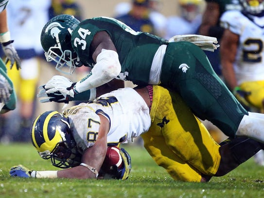 From 2013: Michigan Wolverines tight end Devin Funchess
