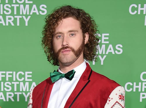 T.J. Miller arrested for calling in false bomb threat on train