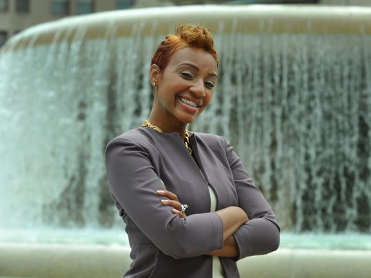 Jeronna Mabrey is working on her masters degree in public affairs at IUPUI, and is starting a business that assists young women with brand imaging and fashion to prepare them for success in life.
