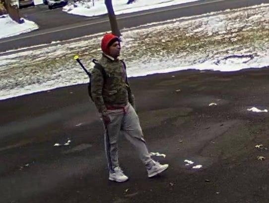 The man sought by police in connection with a Dec.