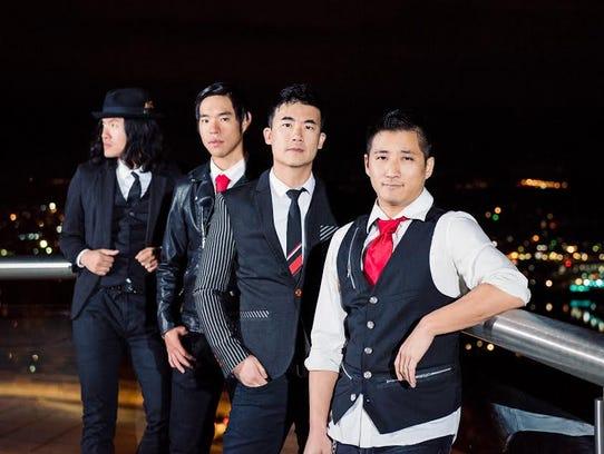 The Slants, an Asian American dance rock band, won