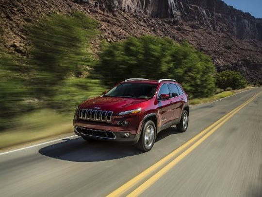 The 2015 Jeep Cherokee was the brand's best-selling model in May.