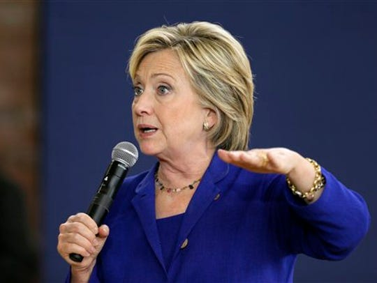 FILE - In this Sept. 22, 2015 file photo, Democratic