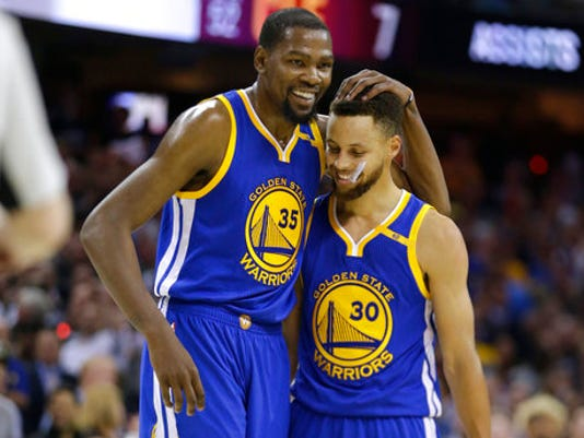 Kevin Durant,Stephen Curry