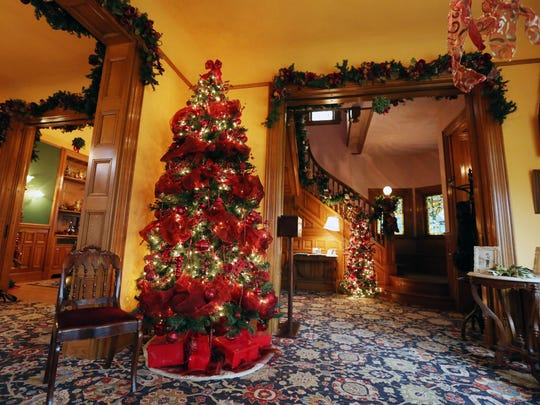 The Historic Deepwood Estate is decorated each year for the holidays. The community is welcome to visit during two open house events today and Dec. 11.