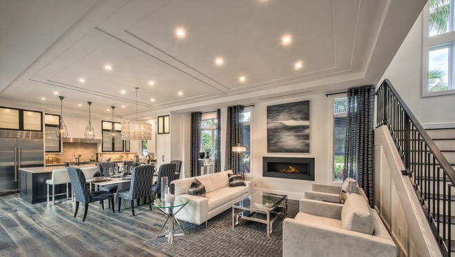 Clive Daniel Home has completed the interiors for a new custom home by Encore Development.
