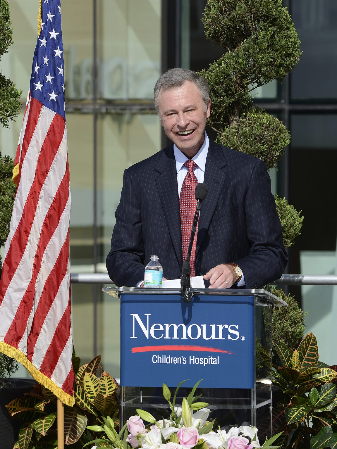 Dr. David Bailey, president and CEO of the Nemours