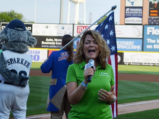 Bridgewater: Somerset Patriots to host National Anthem auditions PHOTO CAPTION