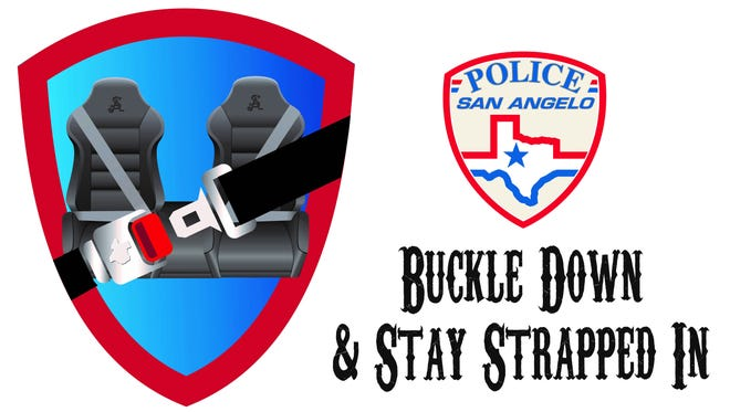 San Angelo Police Department launches Buckle Down & Stay Strapped In campaign.