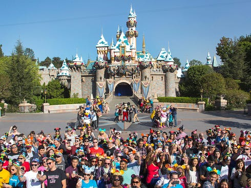 Facebook crunched data from its 1.19 billion users to determine which places had the most check-ins in 2013. Disney parks, such as Disneyland in Anaheim, were hugely popular across the globe.
