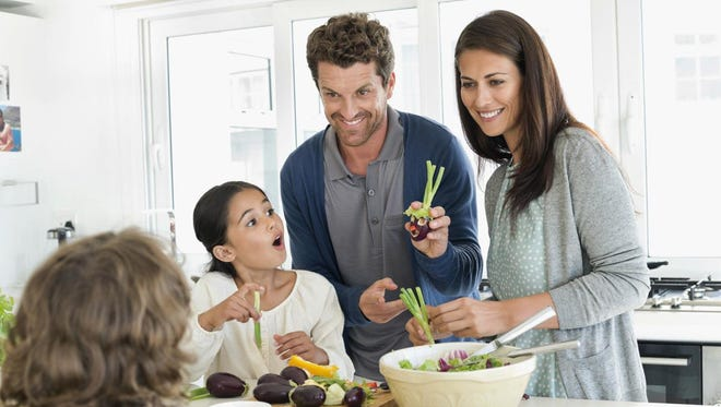 Fill your home with enjoyable foods. Kids' eating habits start at home, so make sure they have healthy options to choose from.