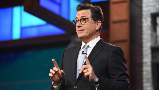 'Late Show' host Stephen Colbert.