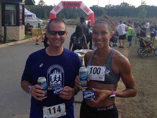 Waynesboro CFAR runners Chris VanSant and Erica McCann
