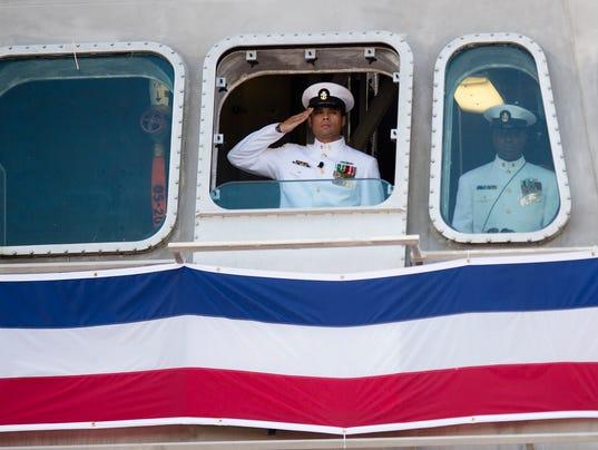 USS Montgomery Commissioning
