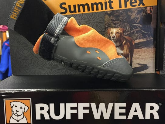 Ruffwear dog booties are a perfect gift for the dog