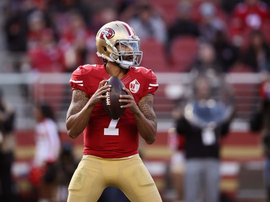 Colin Kaepernick can't find a job as a quarterback in the NFL.