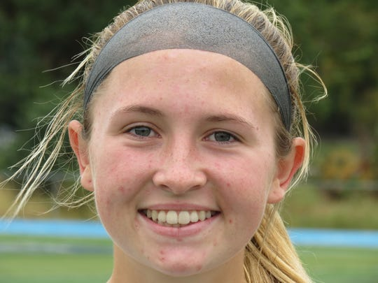 Senior Carla Goodwin of Wayne Valley scored in regulation and also converted a penalty kick.