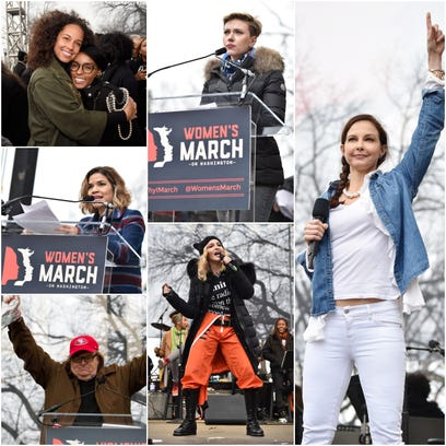 The most memorable quotes from the Women's March on Washington