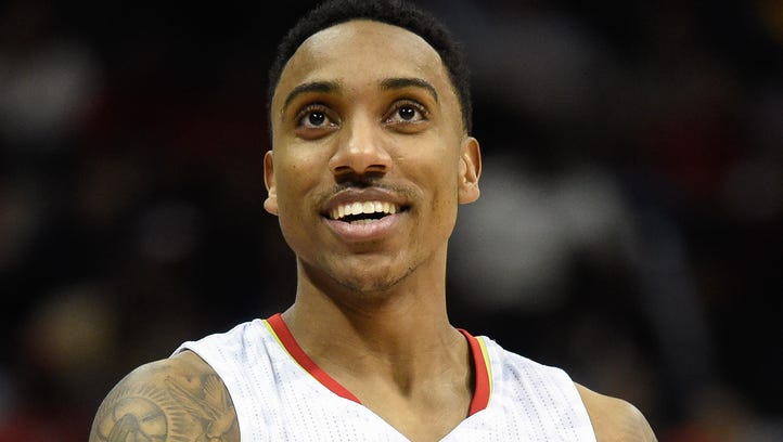 Jeff Teague says he's excited to be playing for the Indiana Pacers.