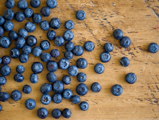 Got blueberries? Great. Make a blueberry snack cake