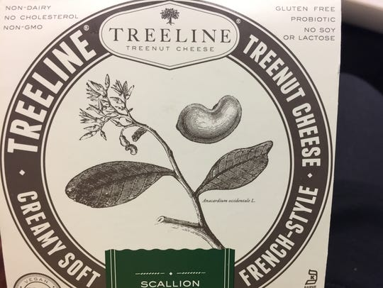Treeline Cheese is made from fermented cashew milk