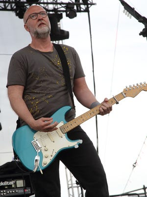 Bob Mould performs at the Sasquatch! Music Festival at the Gorge Amphitheatre on May 25, in George, Washington.