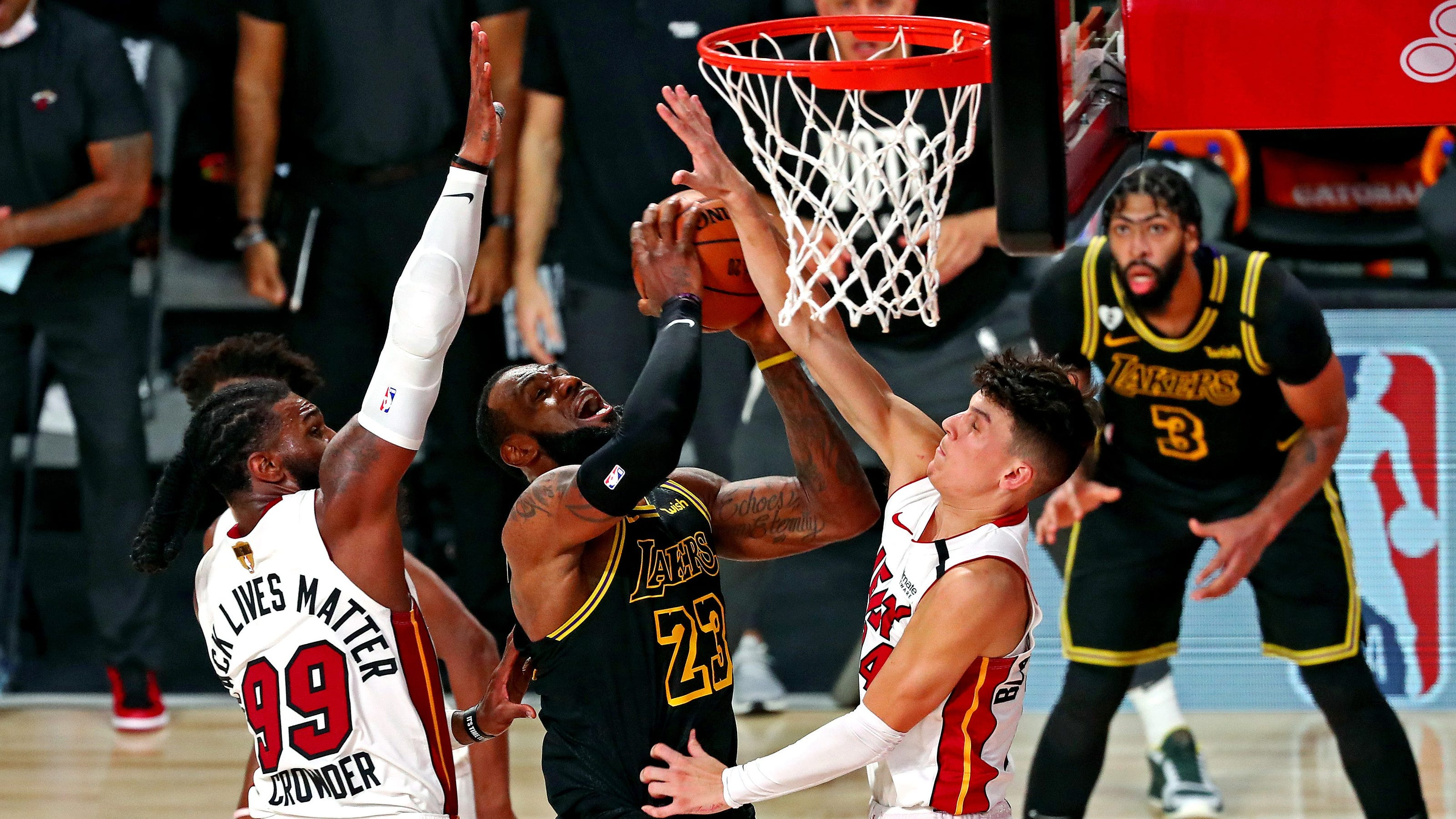 Los Angeles Lakers vs. Miami Heat Game 6 odds, picks and ...