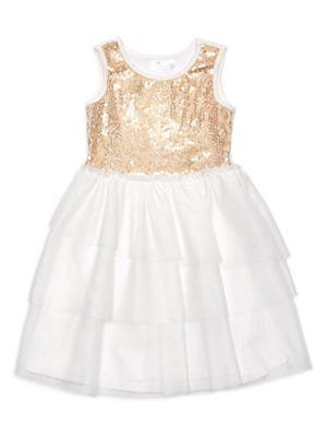 Kardashian Kids sequin dress, $38.99.